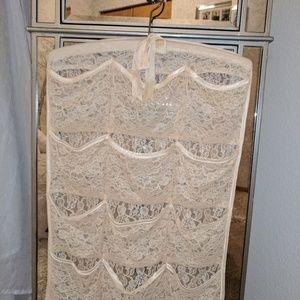 Accessories - Cream Lace Nylon Hanger